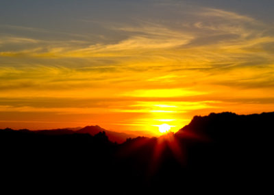 Catalina Mountains Sunset Tuscon Az Lg_5948