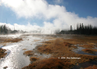Early Morning Mist Yellowstone 127
