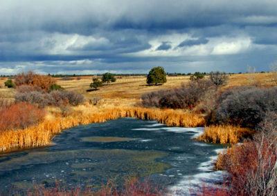 Frozen Pond Durango Colo 018