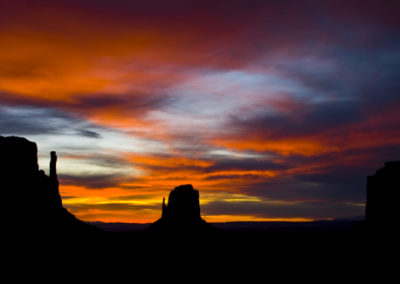 Sunset Monument Valley Arizona Lg4941
