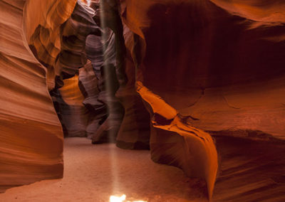 Sliver Sun Beam Grand Room Upper Antelope Canyon_9126