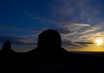 Sun Rise Monument Valley Utah Az 4907