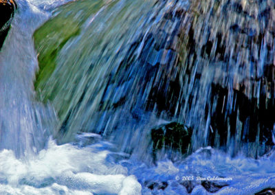 Abstract Waterfall 051