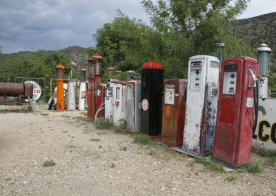 Antique Gas Pumps NM_0716