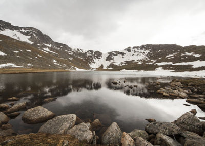 Clear Lake 12,000' Mt Evans Colo 9202