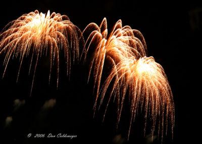 Fireworks Albq Balloon Fest Triple Explosion 184