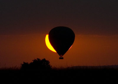 Hot Air Baloon Sunrise Maasi Mara Kenya Africa_1434