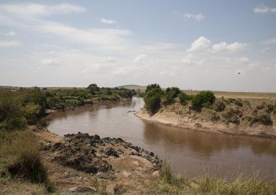 Maasi River Maasi Mara Kenya Africa_1197