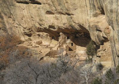 Mesa Verde Anasazi Cliff Dwellings 1300 Years Old 301