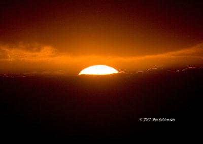 Sunset Amboseli NP Kenya 3468