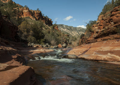 Upper West Fork of Oak Creek Sedona Az 4587