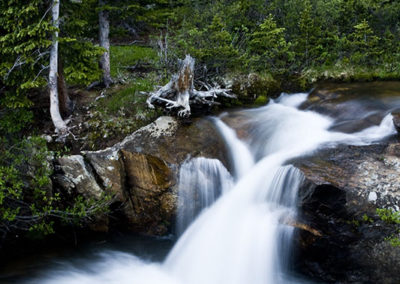 Water Falls Hosier Pass Colo 5654